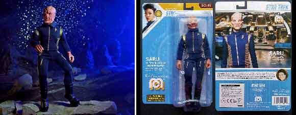 Mego Star Trek: Discovery Action Figures