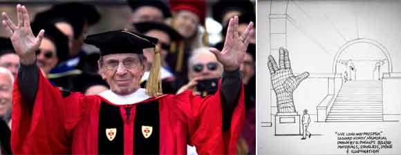 Boston Resident Wants Sculpture Honoring Leonard Nimoy