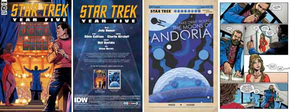 Star Trek: Year Five #16 Preview