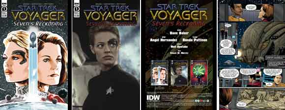 Star Trek: Voyager: Seven's Reckoning #1 Preview