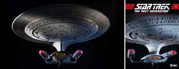 Hero Collector's New Enterprise-D Model
