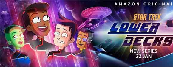 Star Trek: Lower Decks Headed Overseas