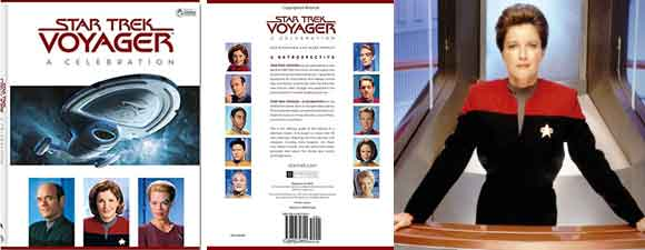 Star Trek Voyager: A Celebration Book Review