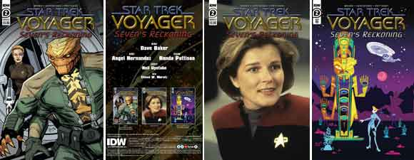 Star Trek: Voyager: Seven's Reckoning #2