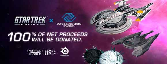 Perfect World Entertainment's Star Trek Online Charity Drive