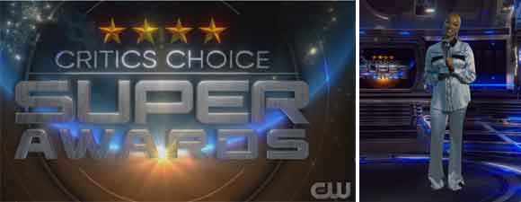Critics Choice Super Awards Trek Winners