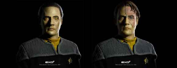 First Contact Data Action Figure
