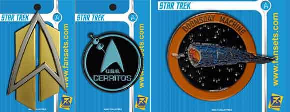 FanSets Star Trek Pin Releases