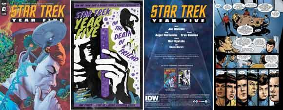 Star Trek: Year Five #18 Preview