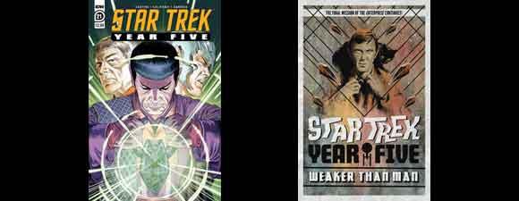 IDW Publishing Trek Comics For April 2021