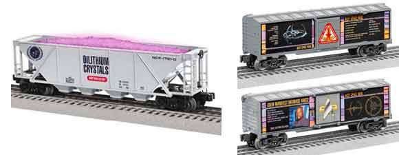More Trek-Themed Lionel Trains