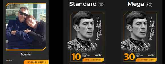 Nimoy Digital Collectibles Coming to Wax Blockchain