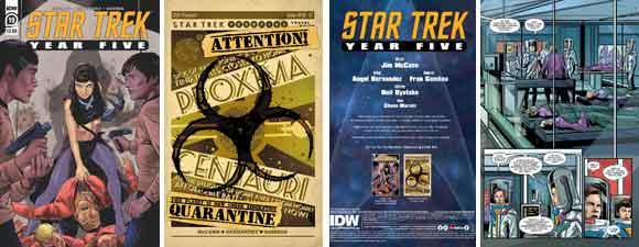 Star Trek: Year Five #19 Preview