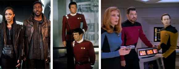 Descriptions For Three 2021 Star Trek Novels