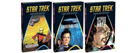New Star Trek Graphic Novels Collection Books