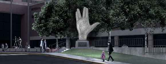 Nimoy Memorial Sculpture Planned For Museum of Science
