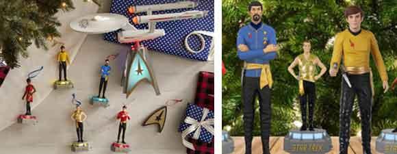 Two New Hallmark Trek Ornaments