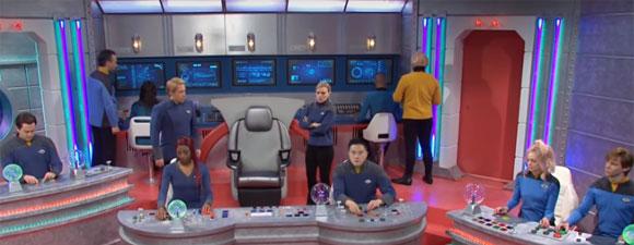 Starcharter Andromeda Trek Skit
