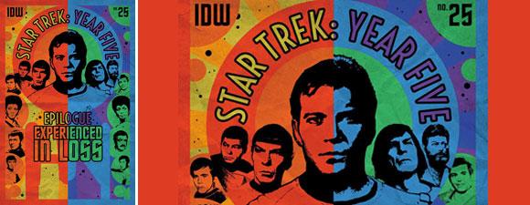 IDW Publishing's July Trek Comics