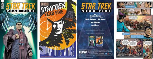 Star Trek: Year Five #20 Preview