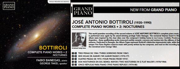 Takei Narrates Pianist Fabio Banegas' New Album