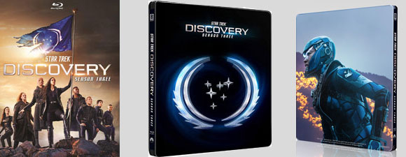 Star Trek: Discovery Season 3 Blu-ray/Steelbook Details