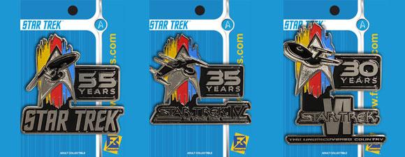 FanSets 2021 Star Trek Anniversary Pins