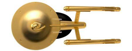 Gold-Plated USS Enterprise NCC-1701 XL Edition