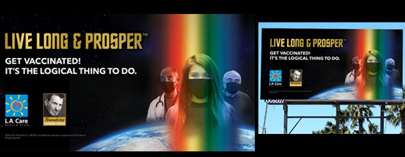 Live Long And Prosper Billboard Campaign Launches