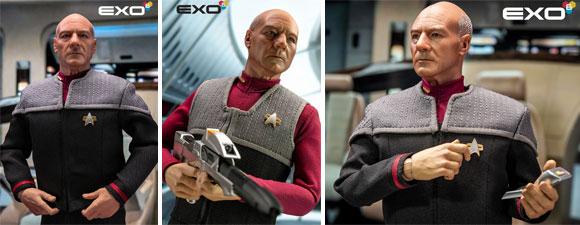 Star Trek: First Contact Captain Jean-Luc Picard Figure