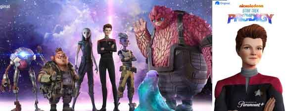 How Janeway Meets Star Trek: Prodigy Kids