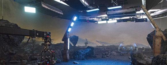 Star Trek: Discovery's AR Wall Virtual Set