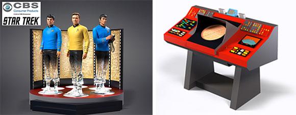 Star Trek: To Boldly Go Transporter Figurine Collection