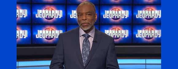 Burton Hosts Jeopardy! This Week