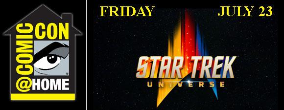Star Trek Universe Coming to Comic-Con@Home
