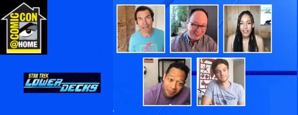 Star Trek: Lower Decks Panel At Comic-Con@Home 2021