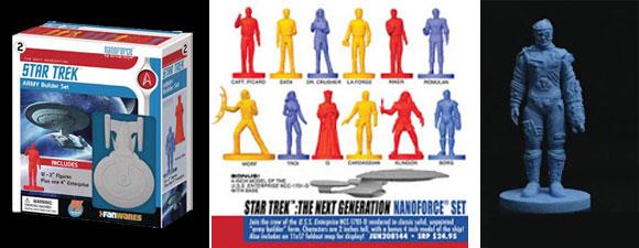 Star Trek Nanoforce Figures