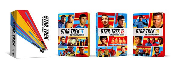 The Original Series Blu-Ray Steelbook Complete Series