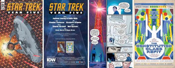 Star Trek: Year Five #23 Comic