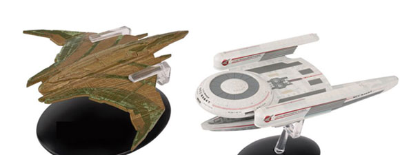 October Trek Ships From The Official Starships Collection