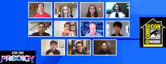 Star Trek: Prodigy Panel at Comic-Con@Home 2021