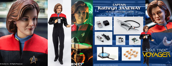 1:6 Scale Janeway Figure From Exo-6