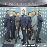'Enterprise' calendar -  courtesy Amazon.com, copyright Paramount Pictures