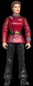 5-Inch Captain Janeway 'Flashback' Figure - image courtesy the Raving Toy Maniac