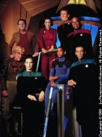 DS9 Season 1 Cast Photo - copyright Paramount Pictures