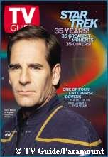 'Special Edition Captain Archer TV Guide Cover, copyright Entertainment Tonight