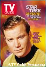 'Special Edition Captain Kirk TV Guide Cover, copyright Entertainment Tonight