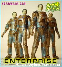 'Away Team Figures' photo - copyright Art Asylum/Paramount Pictures