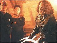 'Barge of the Dead' photo - courtesy Star Trek News & Star Trek Monthly Magazine, Copyright Paramount Pictures