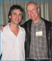 Brannon Braga and Eli Hollander - courtesy Tamara, copyright TrekToday
